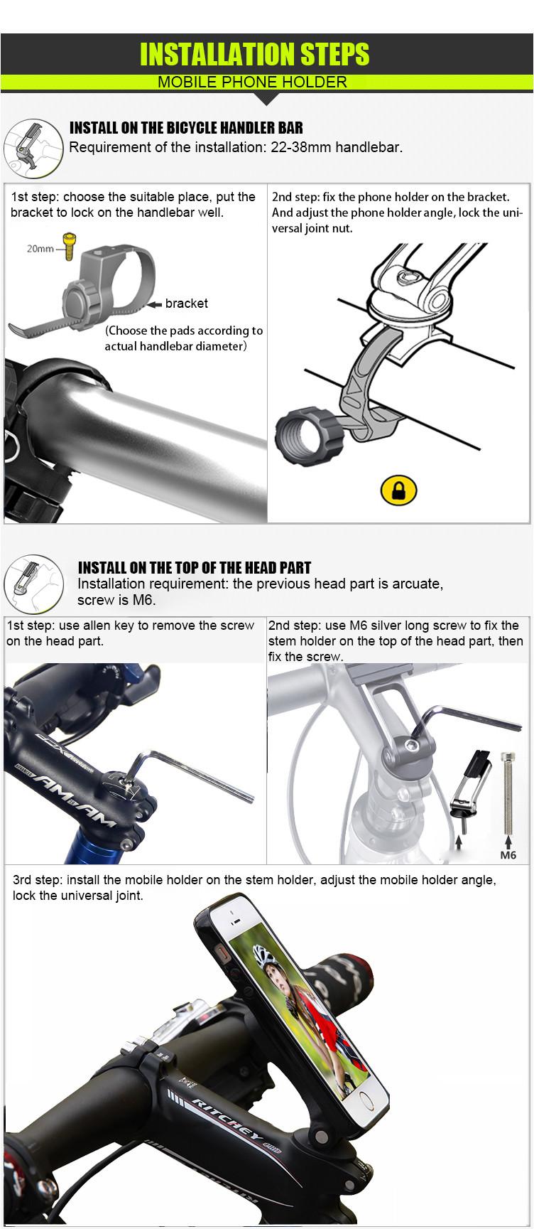 bike mount holder