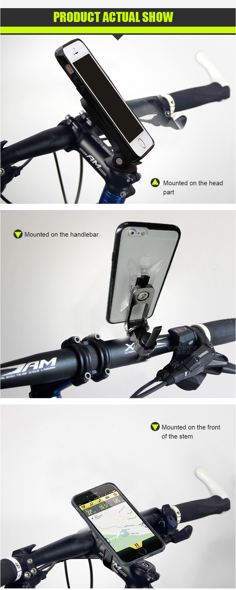 cell phone mount for bike