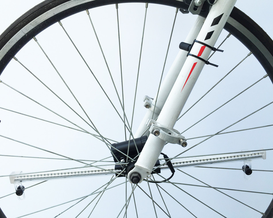 bicycle wheel light software