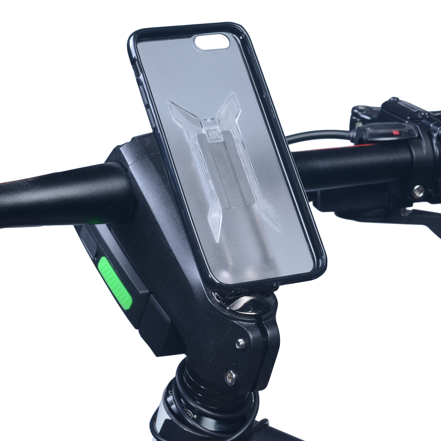 Latest easy install mobile phone bike mount for mountain bicycle
