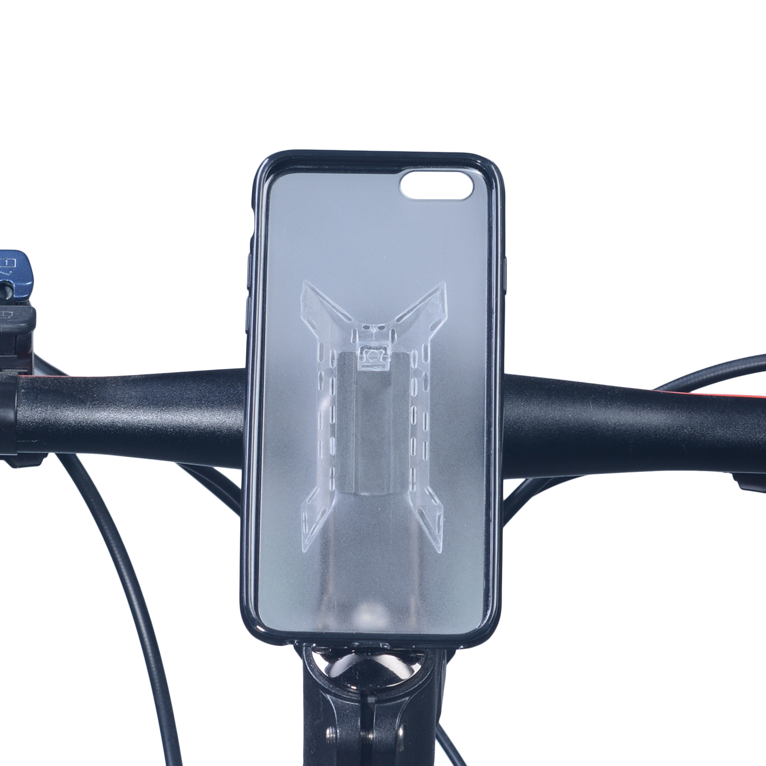 Easy installation bicycle phone holder with mount system