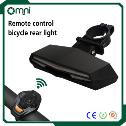 Waterproof safety laser beams lamp, warning flashing turn signals bicycle LED rear light, bicycle dynamo light set