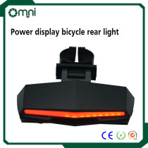 Wholesale LED bicycle rear laser light rechargeable.