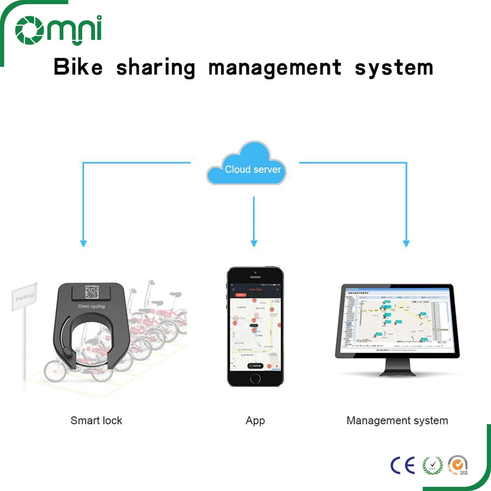 Custom Ofo Mobike Gps Tracker Bike Sharing System Gprs