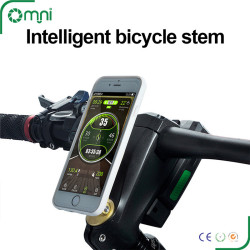 Innovative gps bike computer omni  2-in-1 anti-theft intelligent bicycle stem