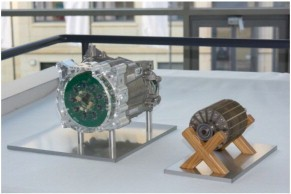 A 60kW ferrite magnet based traction motor