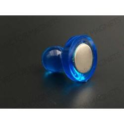 cone magnets, big blue acrylic housing