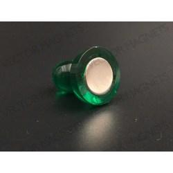 cone magnets, big green acrylic housing