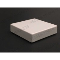Memo Magnet Ferrite Square White with plastic housing