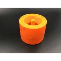 Paper clip dispenser Orange