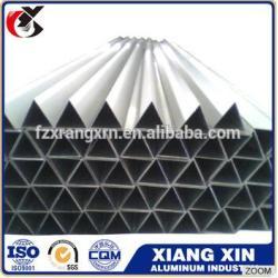 the fine material 26mm aluminum tube ,triangle aluminum tube