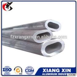 wholesale 23mm diameter thin flat oval extrude 7068 aluminum tube