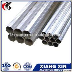 high quality seamless extruded aluminium tube/pipe 6063