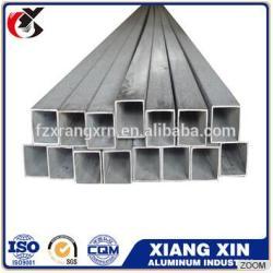 hardness aluminum square 6061 tube standard size