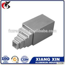 customized 10mm 13mm 16mm aluminum square tube