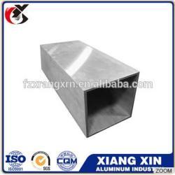 powder coat 7075 t6 6mm aluminum alloy extrusion square tube