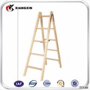 定制古董装饰制作室内木梯梯价格