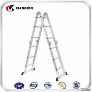 质量en131多功能折叠铝合金梯子阁楼床