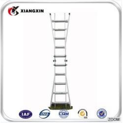 lidl step aluminum 12 meter rubber feet metal ladder