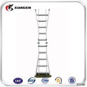 lidl step铝合金12米橡胶脚金属梯