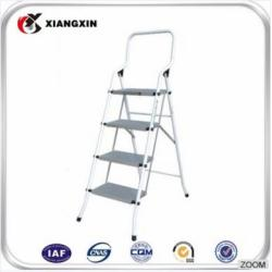 warehouse manufacture height adjustment movable 3 steps narrow iron ladder