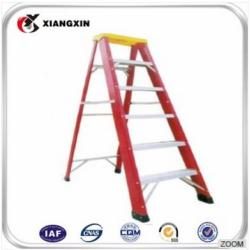 colored boat twin aluminum ladder step ladder with rubber feet