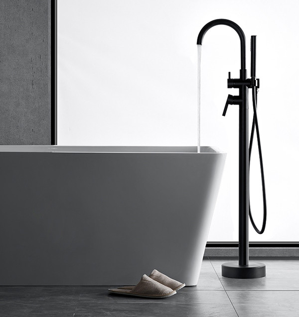 freestanding bath faucet