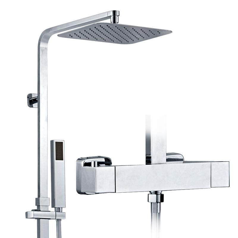 OEM dual-handle bathroom thermostatic shower system