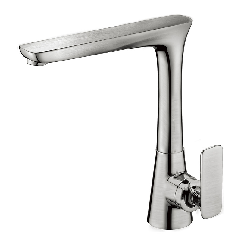 single hole kitchen sink faucet