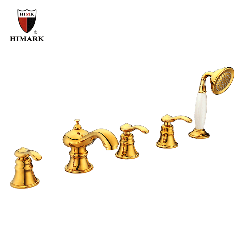 Antique mixer taps for bathroom shower systems in HIMARK