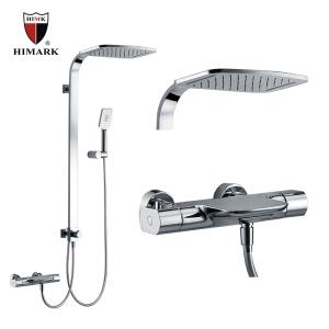 Thermostatisches Regenduschensystem aus Messing für Badezimmer
