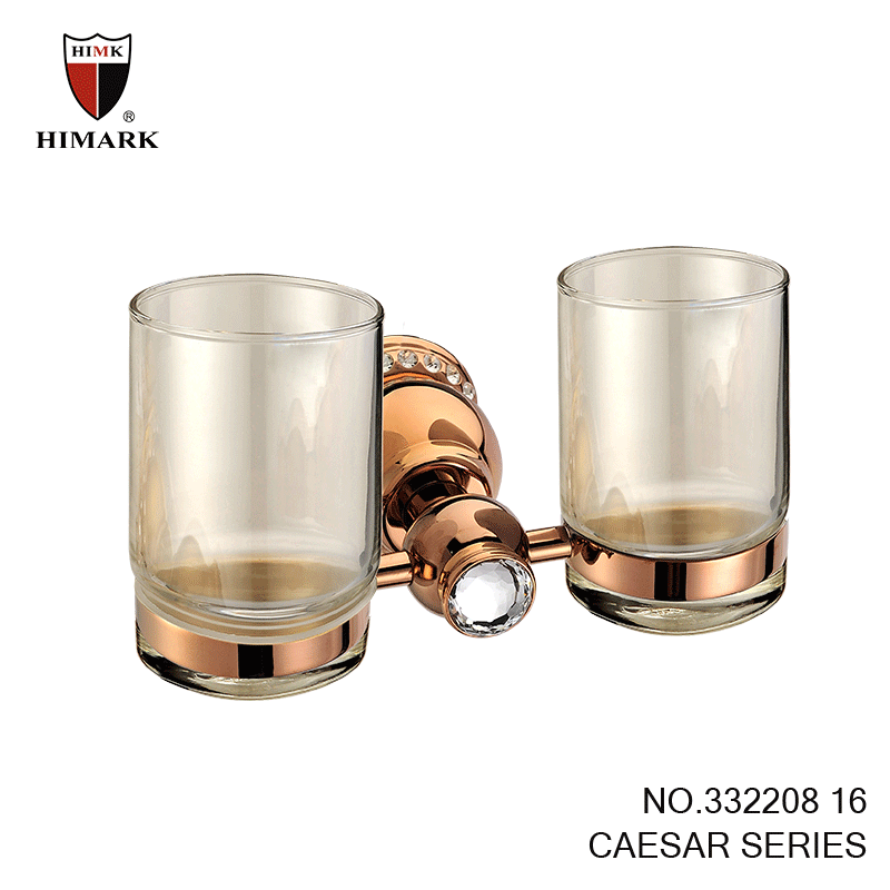 Caesar bathroom accessories double toothbrush holder in for Bathroom accessories png