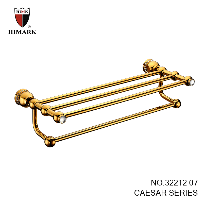 Brass Bathroom Accessories In Gold Plated Towel Racks Buy Bathroom Accessories Towel Racks