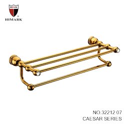 brass bathroom accessories in gold plated towel racks - Bathroom Accessories Lebanon