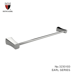 long chrome towel bar for bathroom