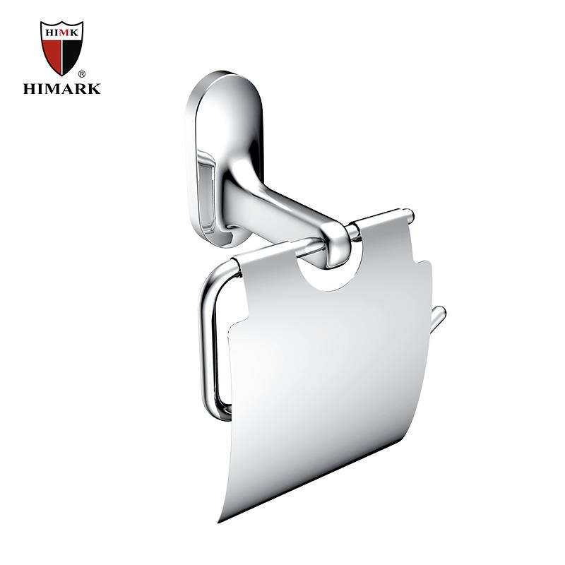 Contemporary design zinc alloy toilet paper holder