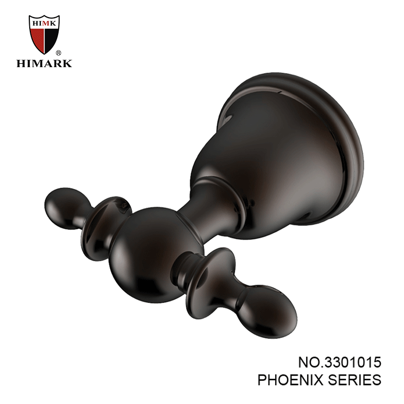 Contemporary style towel robe hook in oil rubbed bronze