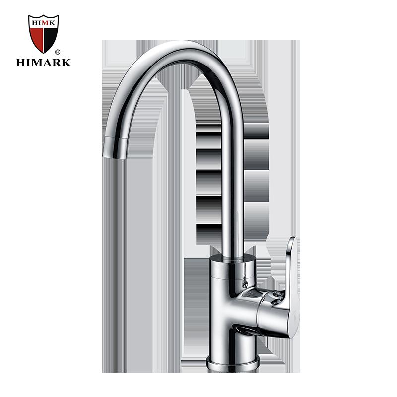 single handle single gooseneck kitchen faucet buy
