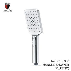 汉玛克增压花洒淋浴喷头 ABS塑料浴室手持花洒雨淋式