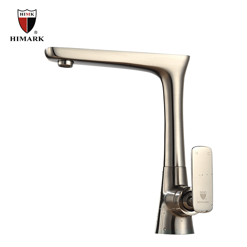 Brushed Nickel Tall Modern Kitchen Sink Faucets Buy Modern Kitchen Sink Faucets Tall Kitchen
