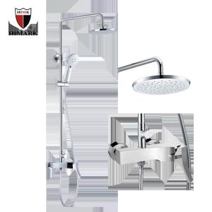 Cabine de duche e faucet de banho de superfície
