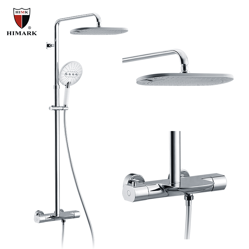 High Quality Professional Design Thermostatic Mixer Valve: Best Exposed Thermostatic Mixer Shower System
