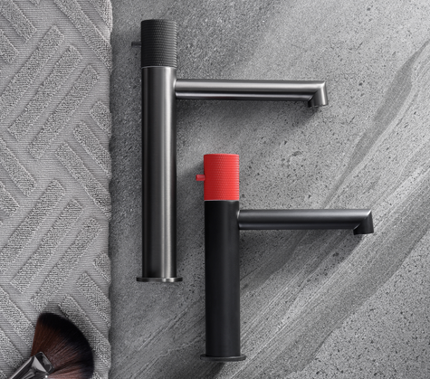 INDUSTRIAL STYLED FAUCETS