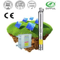 ضخ المياه بالطاقة الشمسية الري 48V ارتفاع ضغط مضخة مياه في قطر