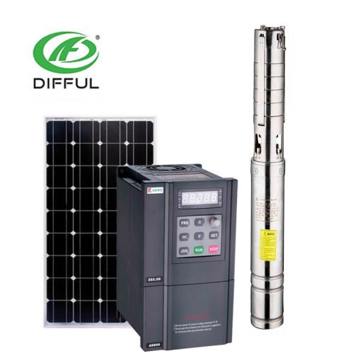 solar pumping machine