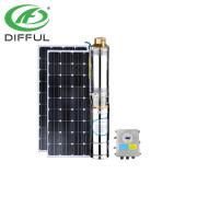 48-Volt-DC-verlustarme solarbetriebene Pumpe für Brauchwasser-Solarbohrungspumpe