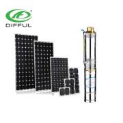 150 Watt starke Solar-Tauchpumpen-Solarpumpe mit MPT-Regler
