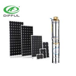 150 واط منخفضة الطاقة الشمسية مضخة غاطسة النفث المضخة الشمسية مع تحكم mppt