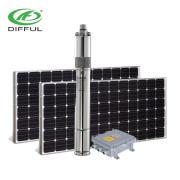 DC 24V 140watt solarwärmepumpe solar helical pump solar Bewässerungspumpe