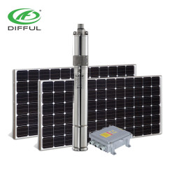 dc 24 فولت 140 واط الشمسية مضخة الحرارة الشمسية مضخة حلزونية الشمسية الري
